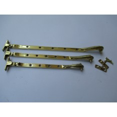 Georgian/Rope edge old style window fittings-