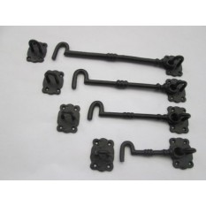 Cast Iron hook and latch