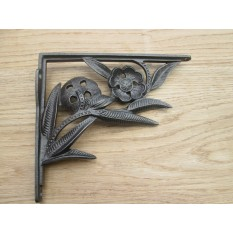 Cast Iron Ornate Fancy vintage Shelf Support Book Sink Toilet Cistern Bracket- AI