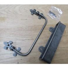 Cast Iron Pew Rail Umbrella Holder