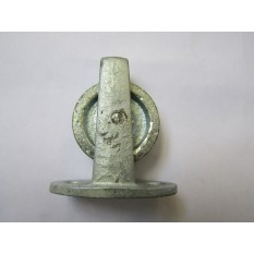 Cast Iron Plate Pulley Galvanised