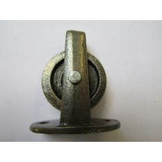 Cast Iron Plate Pulley Antique Iron