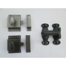 CAST IRON CUPBOARD CABINET DOOR THUMB TURN CATCH LATCH LOCK