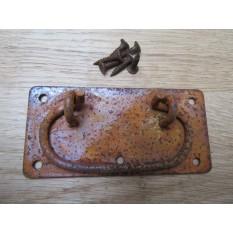 "4"" Locking Lift Handle Rust"