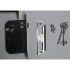 3 Lever Mortice Sashlock Chrome