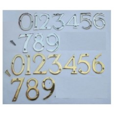 solid brass numbers