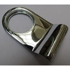 Door Cylinder Pull Front Door Keyhole Cover Pull Chrome