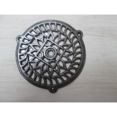 "5"" Circle Round Cover Antique Iron"