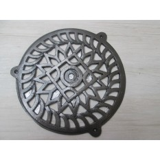 "8"" Circle Round Cover Antique Iron"