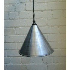 Conical Coolie Pendant Light Shade Steel