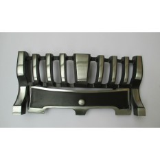 Contemporary Fire Front Satin Chrome