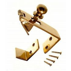 Counter Flap Catch Polished Brass