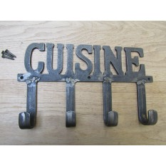 Cuisine Hook Rail antique iron