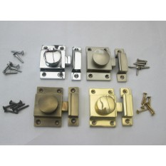 Thumbturn latch lock 4 finishes