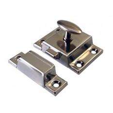 Small Steel cupboard catch 45mm Chrome