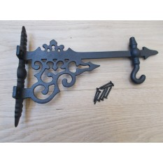 Decorative Hook Bracket Black