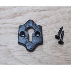 Black Antique Cast Iron Keyhole