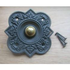 Quatrefoil Door Bell Push