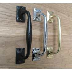 "10"" Off set Pull handle Polished Chrome"