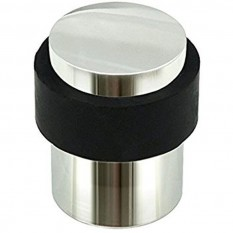 Door Stopper Cylinder Polished Stainless Steel