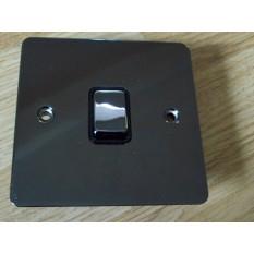 Black Nickel Switch Plate Double Pole Switch