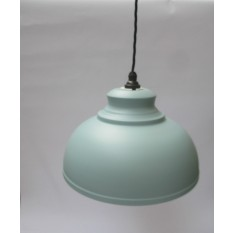 "11"" Pendant Shade with fittings Duck Egg Blue"