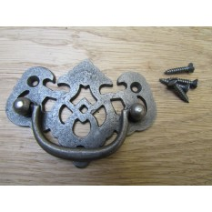 Lattice Cabinet Swing Handle Antique Iron