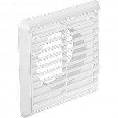 Electrical Round Ducting Grille White