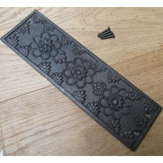 Antique Iron Ellerker Finger Plate
