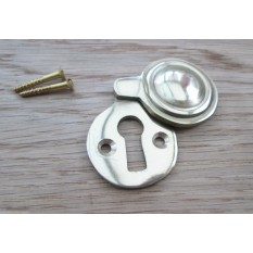 solid brass keyhole covers