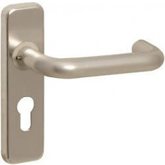 Pair of Round Euro Cutout Profile Door Handle SAA