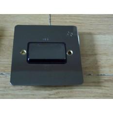 Black Nickel Switch Plate Fan isolator Switch 3 Pole