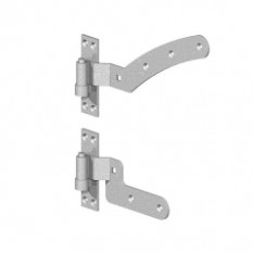 Gatemate Curve Rail Hinges Kit (Left Handed)