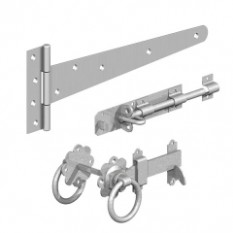 Gatemate 18'' Zinc Plated Field Gate Side Kit