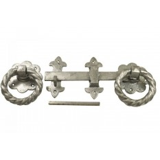 "Ring Latch 10"" Cast Iron Galvanised"