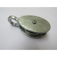 Cast Iron Galvanised Awning Pulley 38mm