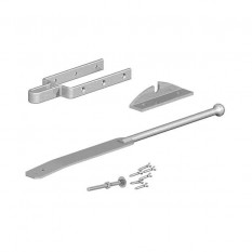 Gatemate Field Gate Fastener set With closing Catch