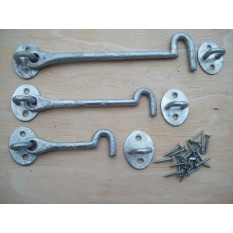 Galvanized Hook & Eye Gate Latch