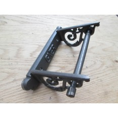 GNER Scroll Toilet Roll Holder Antique Iron