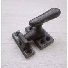 Old Showcase Lock Latch Antique Iron