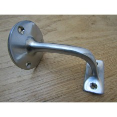 Satin Chrome Handrail Bracket