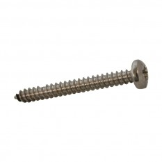 Stainless Self Tapping Pan Head Pozi Screw (100 PACK)