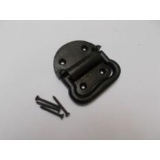Cast iron Chest Handle Black Antique
