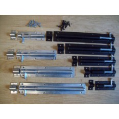 Heavy Duty Gate or Shed Tower Bolts