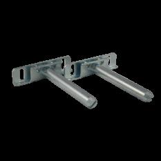 Pair of Concealed floating shelf bracket 73mm Zinc