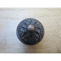 Inca Cabinet Knob Pull Handle antique copper