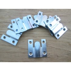 Pack of 10 Interlocking Flush Brackets