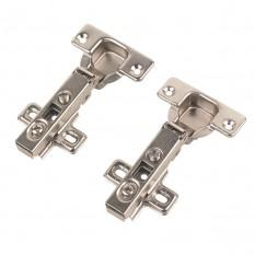 Sprung Concealed Clip-On Hinges 110° 35mm Pack of 2