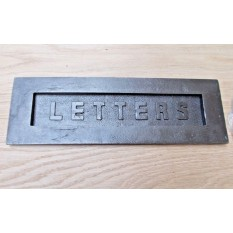"""Sprung Cast Iron Letter Plate-12"""""""