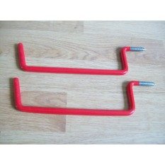 Pair of Garage Ladder Hooks